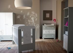Chambre bébé complète collection PACYGA Petite Souris Grise