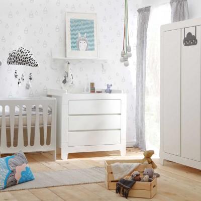 Chambre bébé complète évolutive PINIO Moon