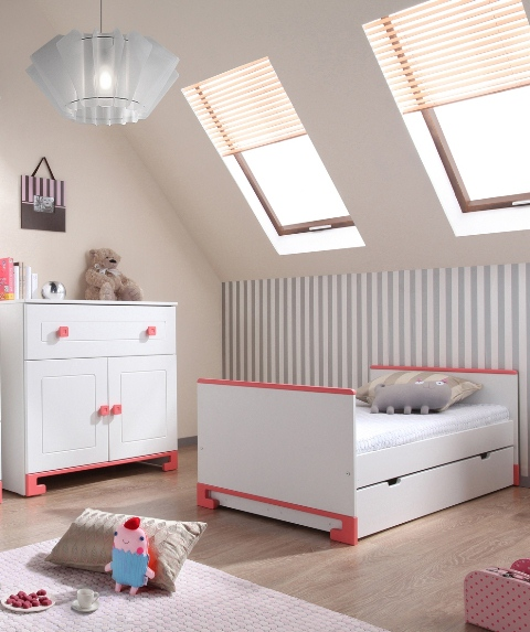 Chambre bebe complete rose for Chambre complete bebe fille