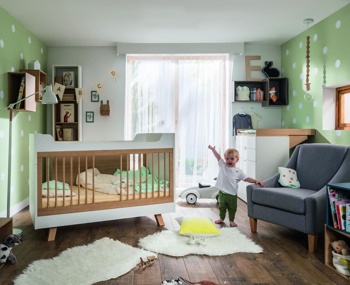 baby vox 4 you baby 2 meubles lit 140x70 commode baby boutique en ligne. Black Bedroom Furniture Sets. Home Design Ideas