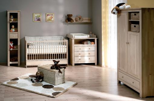 Chambre bébé complète ATB Nature - lit 120x60
