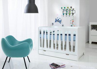 Chambre bébé complète PINIO Moon - Lit 120x60