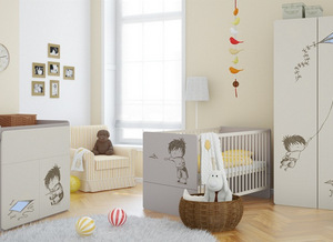 Chambre bébé et évolutive complète avec lit évolutif pas cher ...