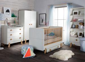 Chambre b b evolutive compl te avec lit volutif pas cher for Chambre bebe complete evolutive