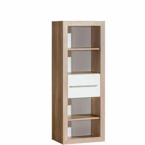 atb terra 5 meubles lit 140x70 commode armoire 4 portes grande biblioth que tag re. Black Bedroom Furniture Sets. Home Design Ideas