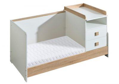 ATB - Multiple - 8 meubles - lit 140x70,lit 200x80, armoire 2 portes ...