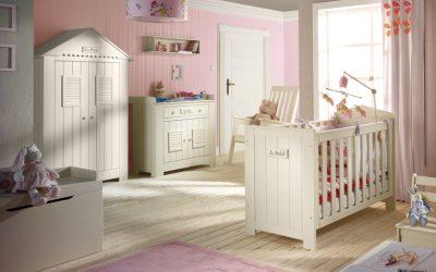 Collection chambre bébé Marseille de la marque Pinio