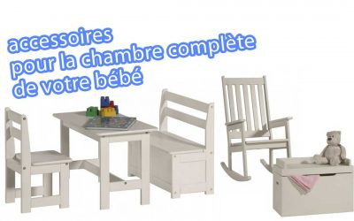 Accessoires chambre complete de votre bebe. Nouveauté sur le site Baby-mania.com
