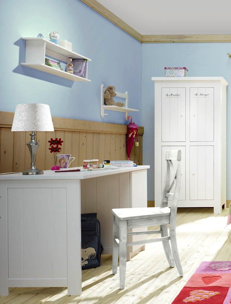 pinio barcelona 4 meubles lit 200x90 armoire 2 ou 4 portes petite biblioth que bureau. Black Bedroom Furniture Sets. Home Design Ideas