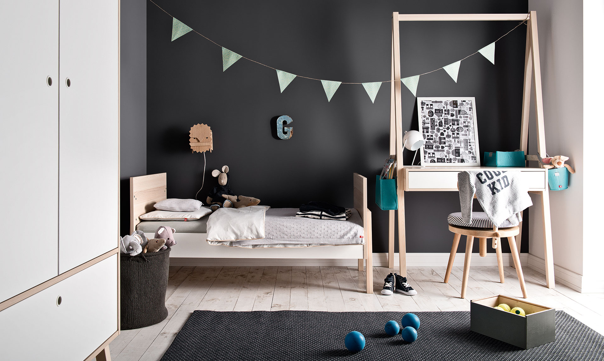Baby vox spot baby 3 meubles lit 140x70 commode - Spot chambre enfant ...