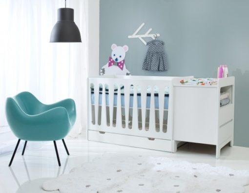 Chambre bébé complète évolutive lit 120x60 PINIO Moon