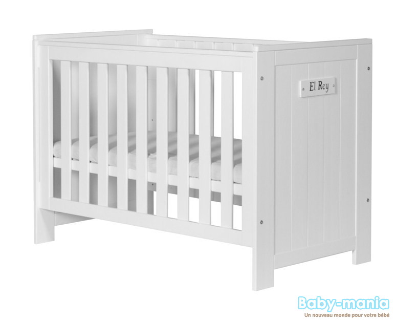 Pinio barcelona 2 meubles lit 120x60 commode baby for Meuble barcelona