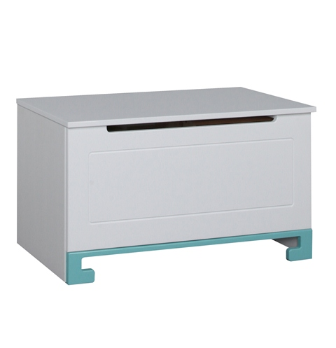 Pinio bleu gar on 4 meubles lit 160x70 commode for Bureau 160x70