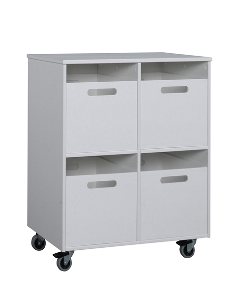 Pinio mini gris gar on 6 meubles lit 160x70 commode for Bureau 160x70