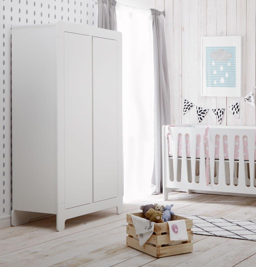 pinio moon armoire 2 portes baby boutique en ligne. Black Bedroom Furniture Sets. Home Design Ideas