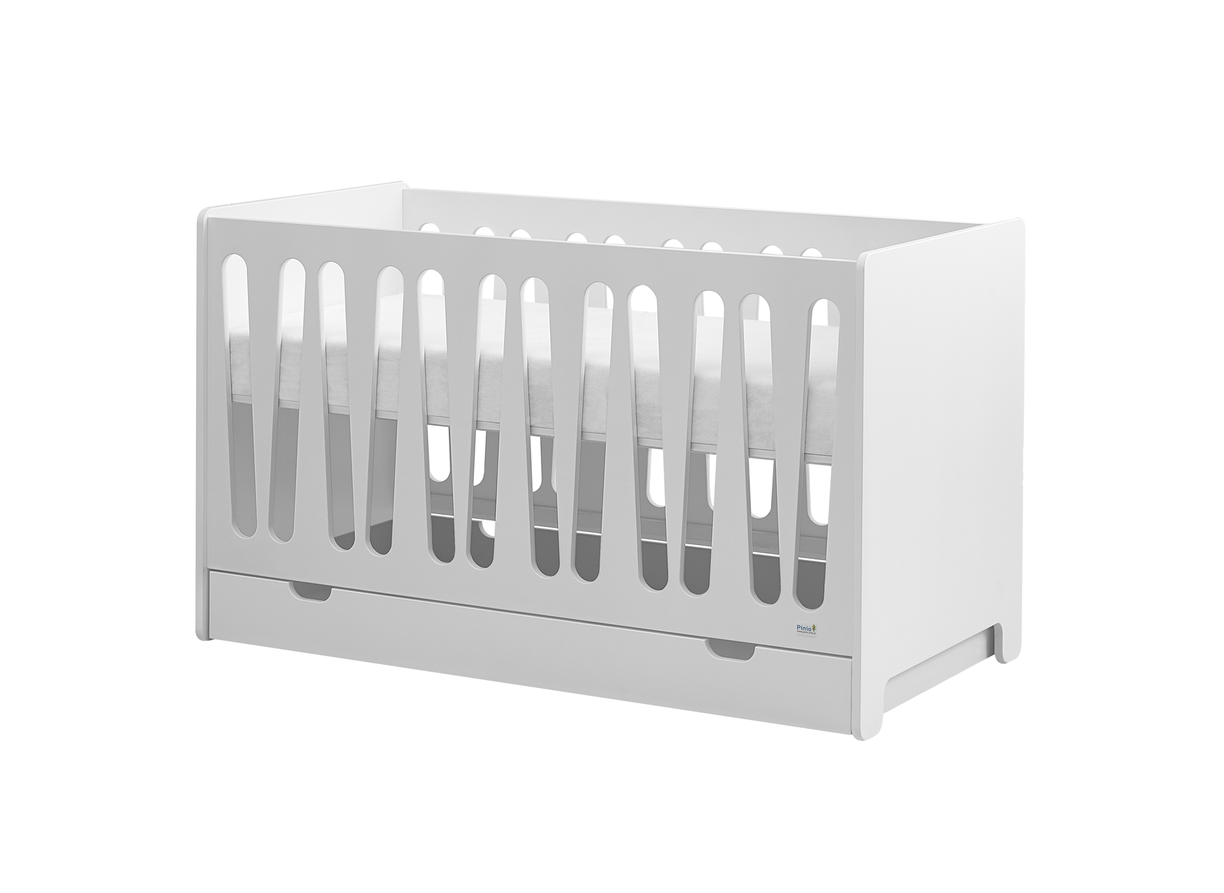 PINIO Moon 4 meubles lit 140x70 mode 2 tiroirs armoire 2