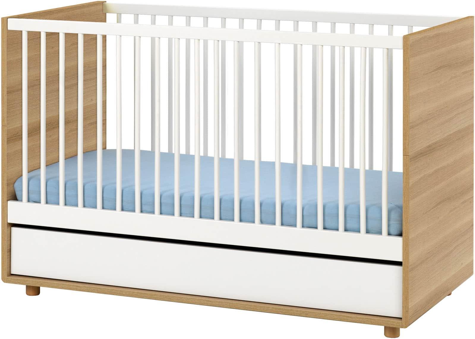 baby vox evolve 3 meubles lit 140x70 avec tiroir commode avec plan langer armoire baby. Black Bedroom Furniture Sets. Home Design Ideas