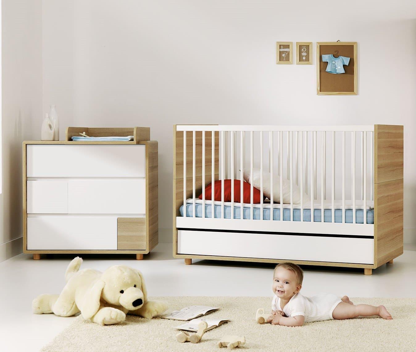 baby vox evolve 2 meubles lit 140x70 avec tiroir. Black Bedroom Furniture Sets. Home Design Ideas
