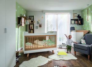Chambre b b et volutive compl te avec lit volutif pas for Chambre bebe evolutive complete