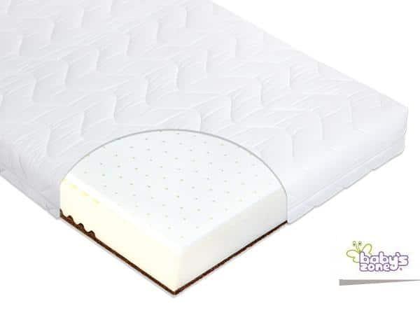 baby 39 s zone matelas duo coco housse 140x70 coton 100 baby boutique en ligne. Black Bedroom Furniture Sets. Home Design Ideas