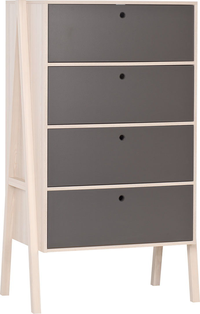 vox spot young 4 meubles lit 200x90 avec tiroir lit gigogne armoire 3 portes commode 4. Black Bedroom Furniture Sets. Home Design Ideas