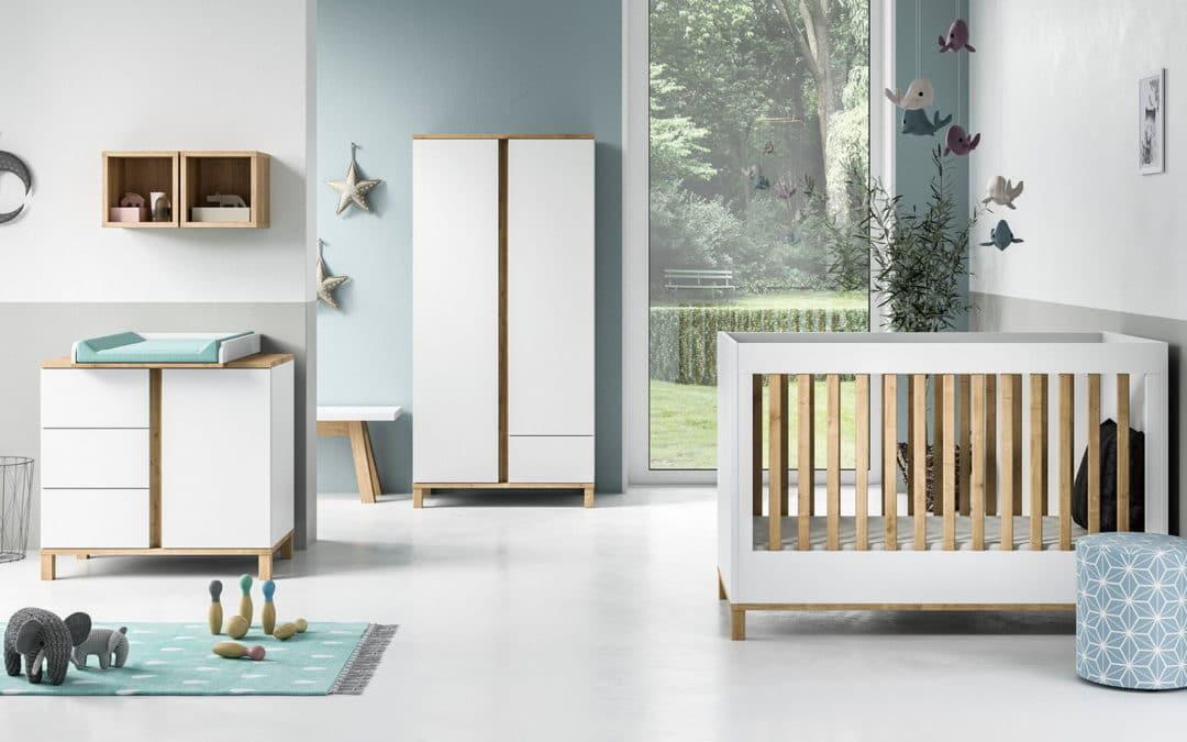 NOUVEAUTE 2019 – Chambres bébé et évolutives collections VOX