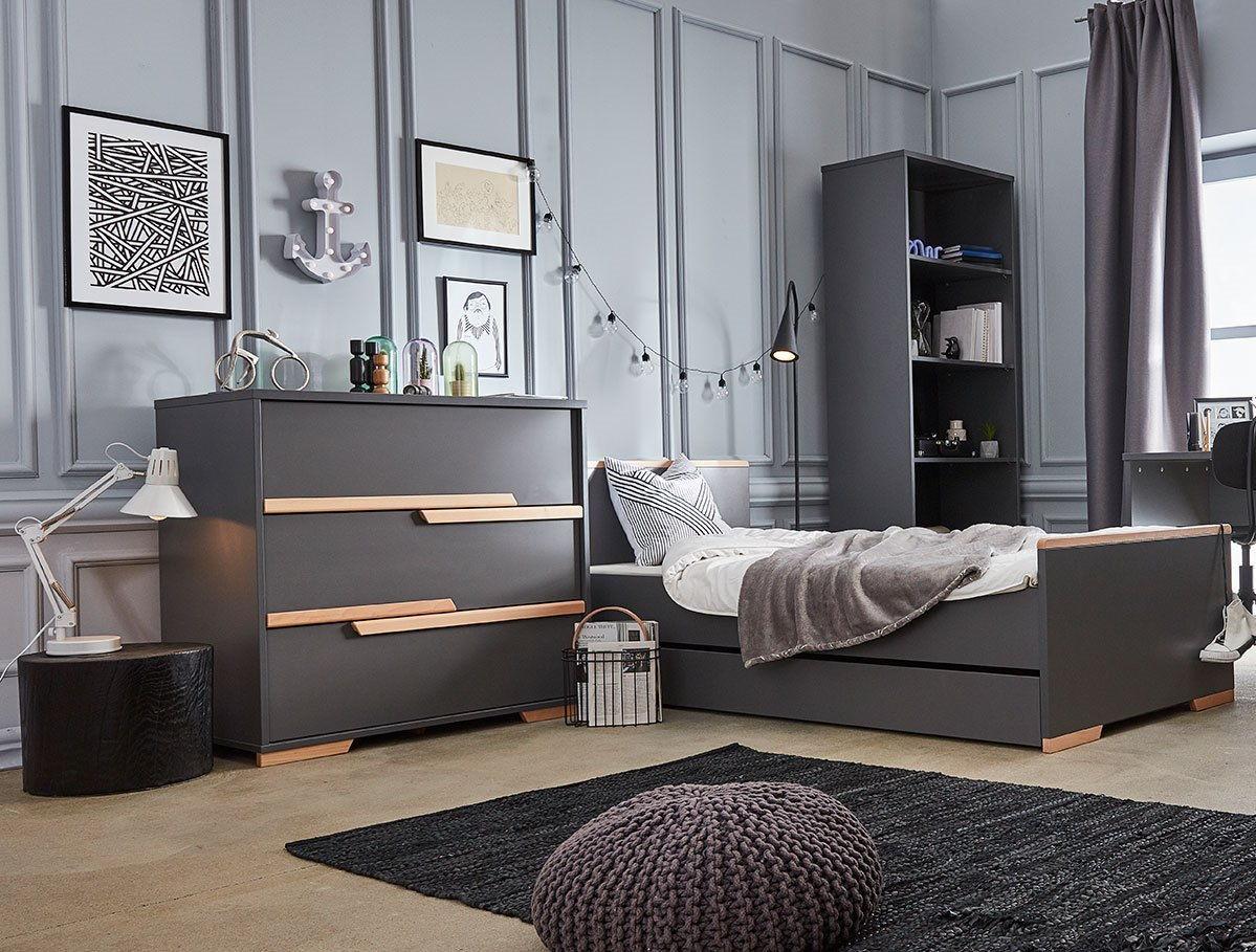 Gris Chambre Ado Fille nouveaute 2019 – chambre ado collection pinio snap | baby