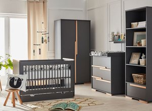 Chambre Bebe Complete PINIO Snap Gris