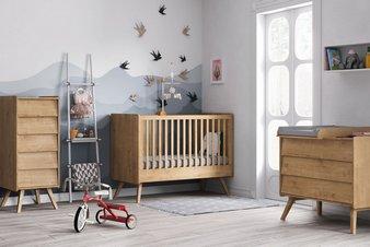 Chambre bébé et évolutive complète